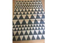 BRAND NEW TRIANGLES RUG