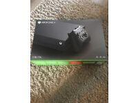 Xbox one x brand new sealed