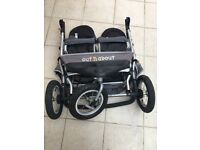 Out N About Nipper Double 360 Buggy
