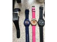 Massive collection of watches