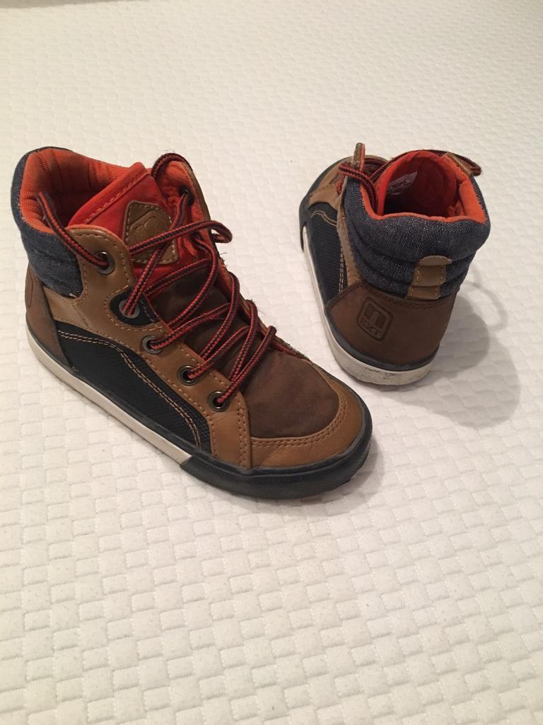 Boys NEXT Ankle Boots. Junior UK Size 8
