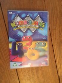 CBeebies Numberjacks DVD Numberjacks Are On Their Way Educational Baby Toddler VGC