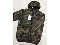 Brand New With Tags Men's Moncler Jackets Camo £40