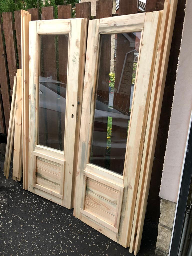 Log Cabin Doors In Dunfermline Fife Gumtree