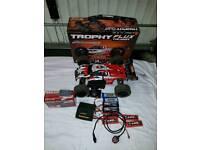 Hpi trophy truggy flux brushless kit rc car