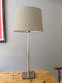 Adjustable height lamp