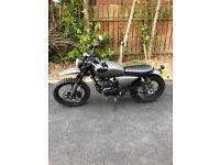 Road scrambler 125cc