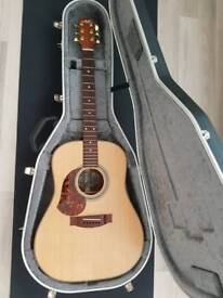 LEFT HANDED Maton A80 acoustic guitar