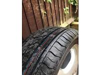 Brand new tyre 195/50R16 and alloy wheel Mercedes A190