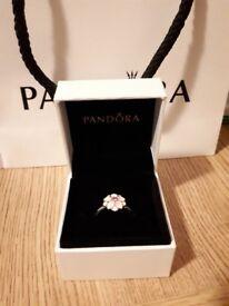 Magnolia Bloom Pandora Ring