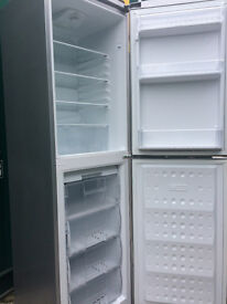 BEKO SLIVER 6FT FROST FREE FRIDGE FREEZER - FREE DELIVERY £100