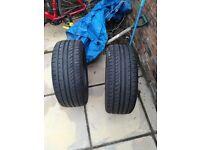Tyres 225/45/17