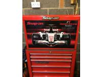 SNAP ON TOOL BOX F1 limit edition