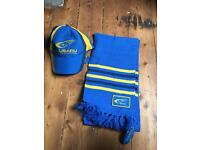 Brand new with tags Subaru cap and scarf
