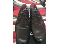 Mens / Boys Topman Brown leather Casual Shoes