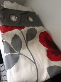 Next poppy curtains