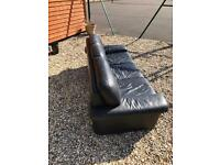 Faux leather sofa - collection only £20 ono