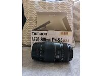 Tamron AF 70-300mm F/4-5.6 Di LD Macro 1:2 Lens for Canon