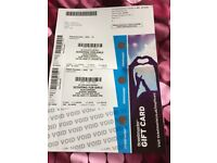 Scouting For Girls tickets x2 Aberdeen Saturday 4th November