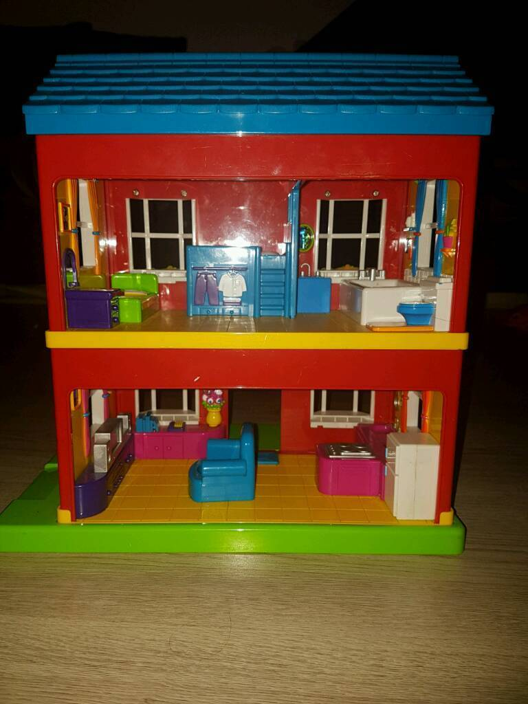 Plastic Dolls House Boys Or Girls Plats Sounds In Aberdeen Gumtree