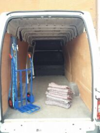 From 20 £ Man & Van services. NO STAIRS FEE ,clean carpeted vans.