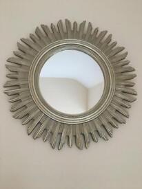 Lovely sunburst mirror in gold colour