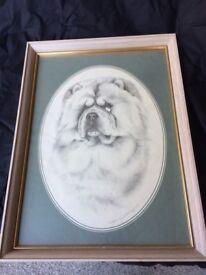 Pollyanna Pickering Framed Chow Chow Print