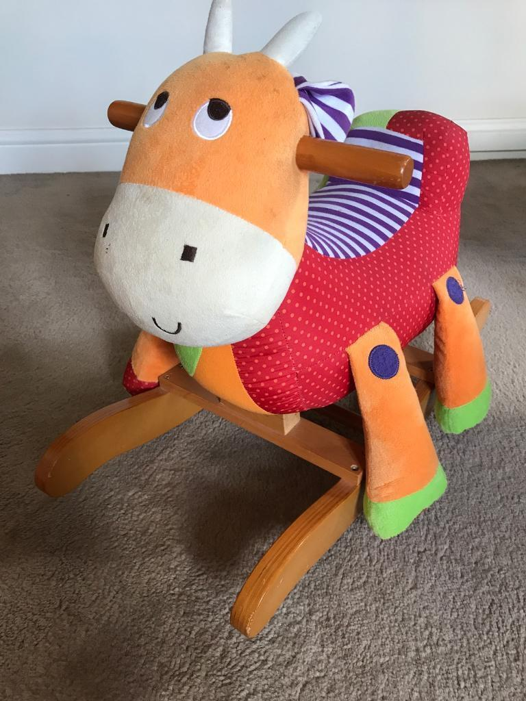 Baby ride on toy rocker