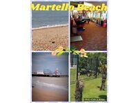 Martello beach sale , prices from £99