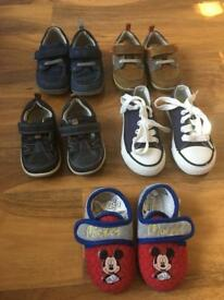Toddler Clark's shoes