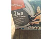 Baby way 3 in 1 carrier New