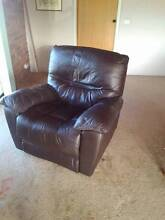 Electric leather recliner Port Sorell Latrobe Area Preview
