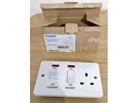 Hager Sollysta WMCC50 45A Cooker Control Unit socket