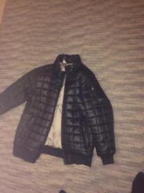 NIKE bomber jacket style coat