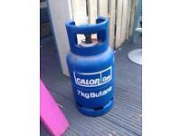 Calor 7 kilo bottle and adaptor