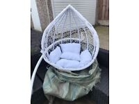 Hanging egg chair, NEW