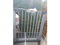 Baby metal safety gate stair safety door