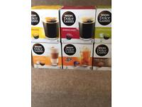 Nescafé Dolce Gusto coffee pods various flaviurs