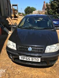 Fiat Punto, 1.2 litre, 55 plate, spares & repairs (project)