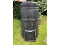 Compost maker tub, galvanised bath, Gardena Fertiliser Spreader,cat and dog basket