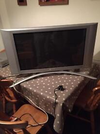 "Phillips flat screen plasma TV. 32"" not HD. Perfect working order."