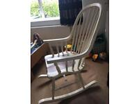 Bramley Cream Laura Ashley rocking chair