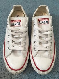 Women's White Converse All Star