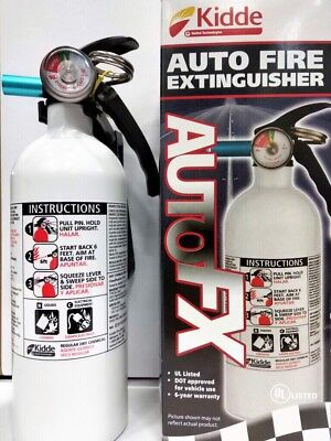 Kidde 100psi 5-bc Dry Chemical Marineauto Fire Extinguisher Car Vehicle Truck