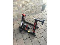 Elite Volare Mag Magnetic Turbo trainer & Front Wheel Stand Very Good Condition