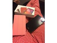 ASUS red tablet with cover
