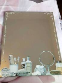 Shabby chic mirror....in excellent condition