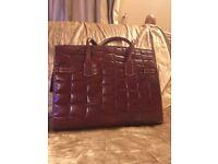 Dericci leather bag