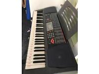 Casio Keyboard with Stand & Stool