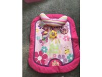 Disney play mat and tummy time mat